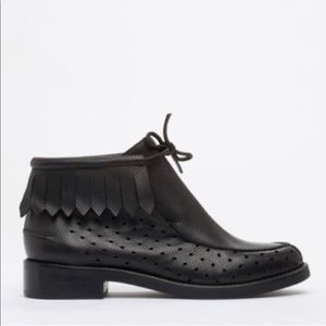 Rachel Comey Fringe Leather Booties